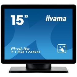 "15"" LCD iiyama T1521MSC-B1 -8ms,800:1,350cd,repro"