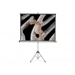 NOBO Tripod plátno š150 x v114 -matný bílý,4:3