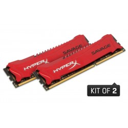 16GB DDR3-1600MHz CL9 Kingston Savage XMP, 2x8GB