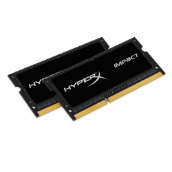 2x4GB 1866MHz DDR3L CL11 SODIMM 1.35V HyperX Impact Black
