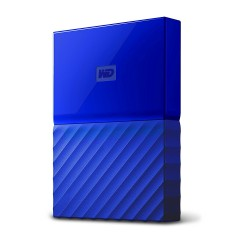 "Ext. HDD 2,5"" WD My Passport 4TB USB 3.0 modrý"