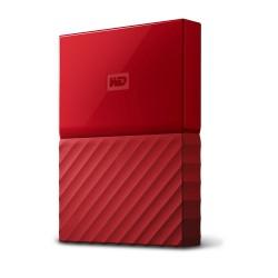"Ext. HDD 2,5"" WD My Passport 4TB USB 3.0 červený"