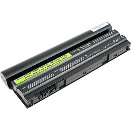 Baterie T6 power Dell Latitude E6420, E6430, E6520, E6530, E5420, E5430, E5520, 9cell, 7800mAh
