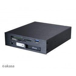 "AKASA Lokstor M26 - čtečka a 2,5"" HDD do 5,25"""