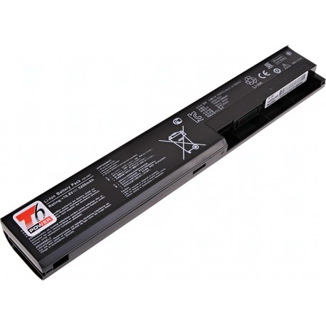 Baterie T6 power Asus X301, X401, X501, F301, F401, F501, 6cell, 5200mAh