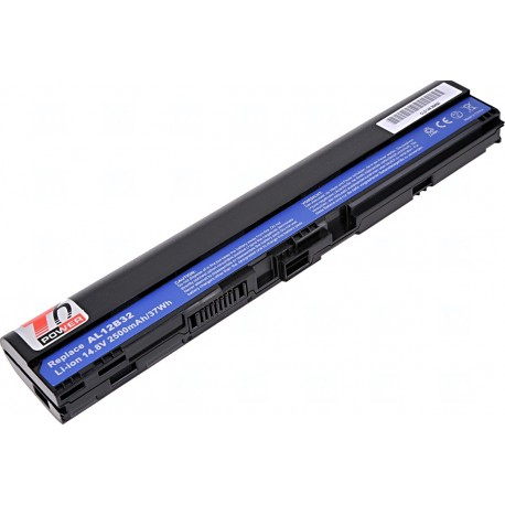Baterie T6 power Acer Aspire One 725, 756, V5-121, V5-131, V5-171, TravelMate B113-E, 4cell, 2500mAh
