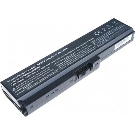 Baterie T6 power Toshiba Satellite L730, L735, L740, L745, L750, L755, L775, 6cell, 5200mAh
