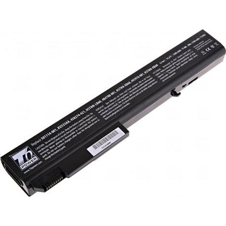 Baterie T6 power HP Compaq 8530p, 8530w, 8540p, 8540w, 8730p, 8730w, 8740w, 8cell, 5200mAh