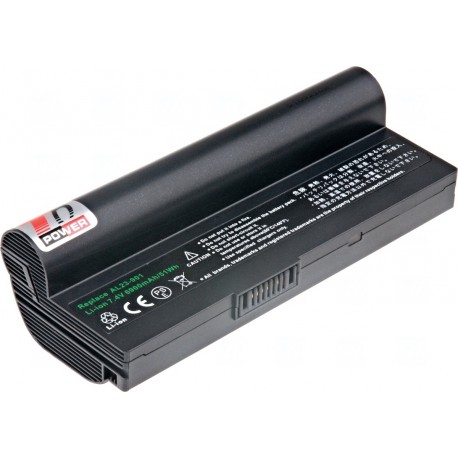 Baterie T6 power Asus Eee PC 1000H, 904H, 6cell, 6900mAh, black
