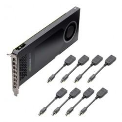PNY Quadro NVS 810 x16 4GB (128) 8xmDP (DP)