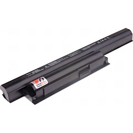 Baterie T6 power Sony Vaio VPC-EA, VPC-EB, VPC-EC, VPC-EE, VPC-EF serie, 6cell, 5200mAh