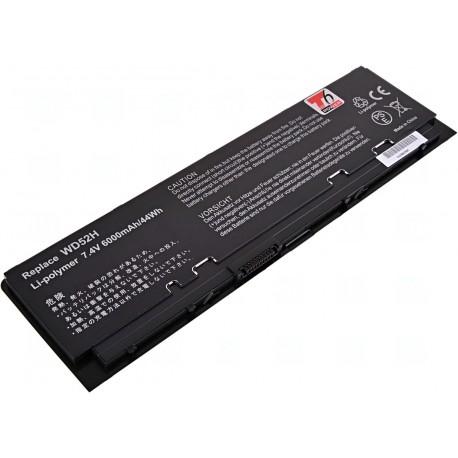 Baterie T6 power Dell Latitude E7240, 4cell, 6000mAh