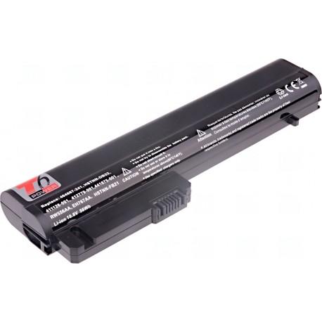 Baterie T6 power HP Compaq nc2400, nc2410, 2510p, 2530p, 2533t, 2540p, 6cell, 5200mAh