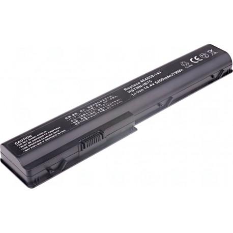 Baterie T6 power HP Pavilion dv7-1000, dv7-2000, dv7-3000, dv8-1000 serie, 8cell, 5200mAh