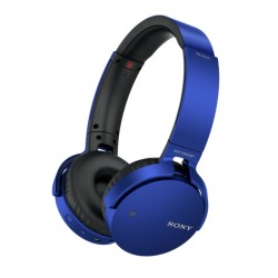 SONY sluchátka MDR-XB650BT bezdr.handsfr, modré