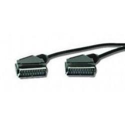 Kabel přípojný SCART 1,8m M/M