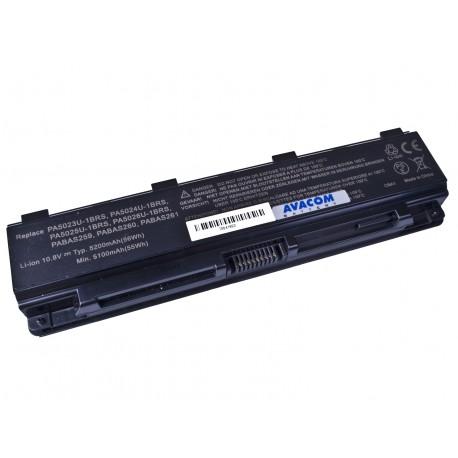 Baterie AVACOM NOTO-L850B-806 pro Toshiba Satellite L850 Li-ion 11,1V 5200mAh/58Wh black