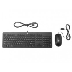 HP Slim USB Keyboard and Mouse - CZ