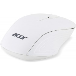 Acer Wireless Optical Mouse Moonstone White