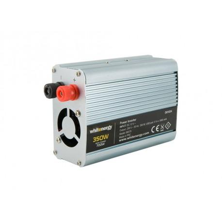 WE Měnič napětí DC/AC 12V / 230V, 350W, USB
