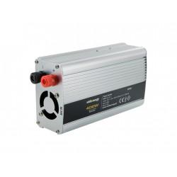 WE Měnič napětí DC/AC 24V / 230V, 400W, USB