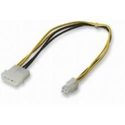"""Napájecí kablík 5,25""""'- redukce P4 na PSU (12V)"""