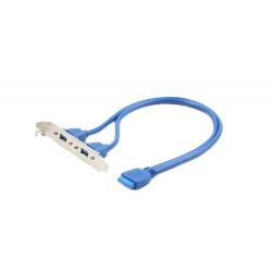 Záslepka USB 3.0 PORTY přídavné 2 x USB pro m/b