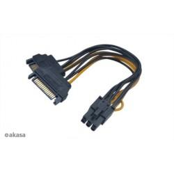 SATA adaptér 2 x SATA na 6pin PCIe