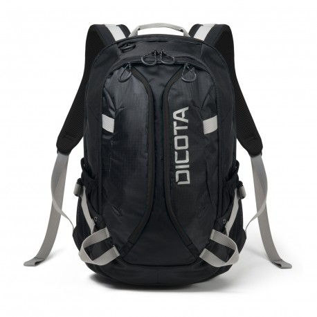 Dicota Backpack Active 14-15.6 black/black