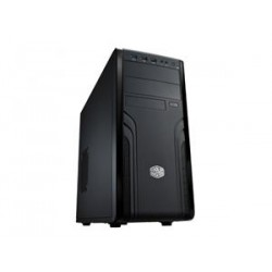 CoolerMaster case miditower Force 500, ATX, black,