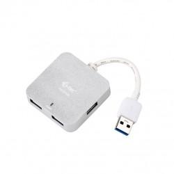 i-tec USB 3.0 Metal HUB 4 Port - Aluminium mini