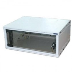 """19""""rozvaděč jednodílný 6U/400mm FLAT-PACK skl.dv."""