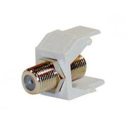 Keystone modul koaxiální, F - F spojka, 75 Ohmů