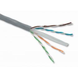 Venkovní inst. kabel Solarix CAT6 FTP PE 500m drát