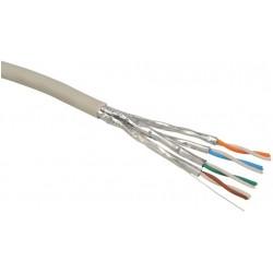Instalační kabel Solarix CAT6A STP LSOH 500m drát