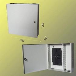 Nástěnný opt. rozvaděč 24x ST vč. kazet, uzamyk.