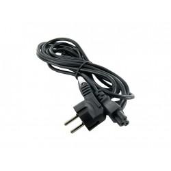 4World Napájecí kabel k NTB 3žilový 3.0m Black