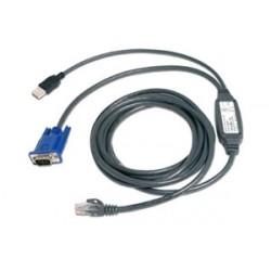 AutoView integrovaný CAT5 kabel USB, 3,0 m
