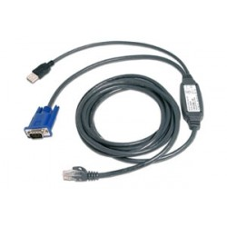 AutoView integrovaný CAT5 kabel USB, 4,5 m