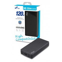 FSP/Fortron NB 120 Semi-Slim napájecí adaptér k notebooku, 120W, 19V