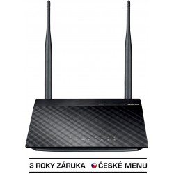 ASUS RT-N12 vD N300 router/AP/rep,2xod5dBi,4xSSID