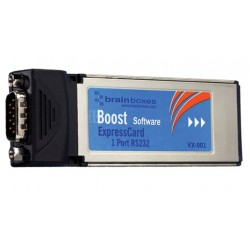 Brainboxes VX-001-001 ExpressCard 1 Port RS232