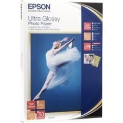 EPSON Ultra Glossy Photo Paper 10x15,300g(50listů)