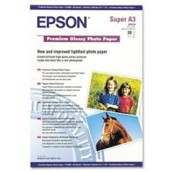 Prem.Glossy Photo Paper, DIN A3+, 255g/m?, 20listu