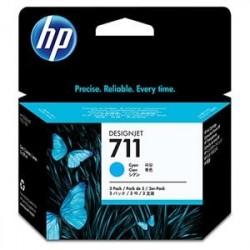 HP no 711 - azurová ink. kazeta -3 pack, CZ134A