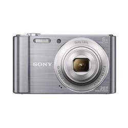 Sony Cyber-Shot DSC-W810 stříbrný,20,1M,6xOZ,720p