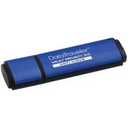 8GB Kingston DTVP30AV USB 3.0 256bit AES + ESET AV