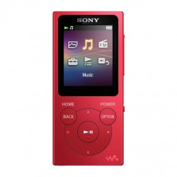 Sony MP4 8GB NWZ-E394 červená