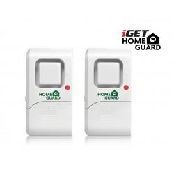 iGET HGWDA522 - minialarm s detekcí vibrací, 2ks