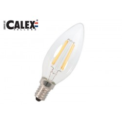 LED vlákn. E14 sviečka 3W 300lm teplá bílá 2700 K